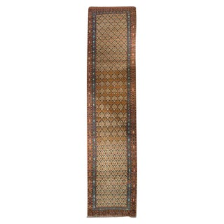 Early 20th Century Persian Malayer Carpet Runner - 3′6″ × 17′4″