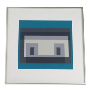 Josef Albers Variant III Screenprint