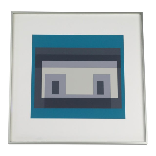 Josef Albers Variant III Screenprint - Image 1 of 4