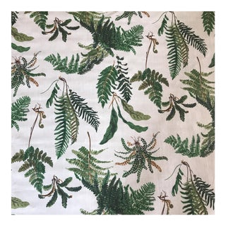 Schumacher Les Fougeres Screen Print Fabric - 1.5 Yards