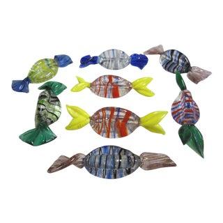 Murano Glass Candies- Set of 8