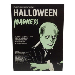 """Halloween Madness"" University Event Poster"