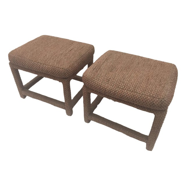 Image of Milo Baughman Parsons Benches- A Pair