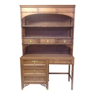 Dixie Shangri-La Desk With Hutch