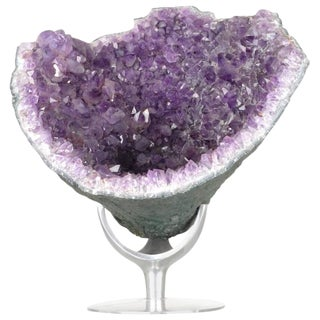 Large Amethyst Geode on Stand
