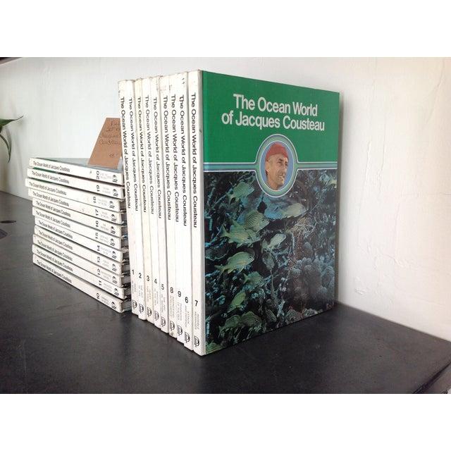 Image of Vintage Jacques Cousteau Volume Books - Set of 20