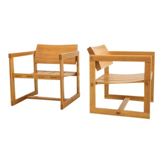 Trybo Norway Edvin Helseth Lounge Chairs - A Pair