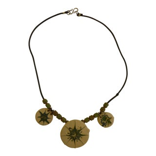 Edith Heath Ceramic Necklace