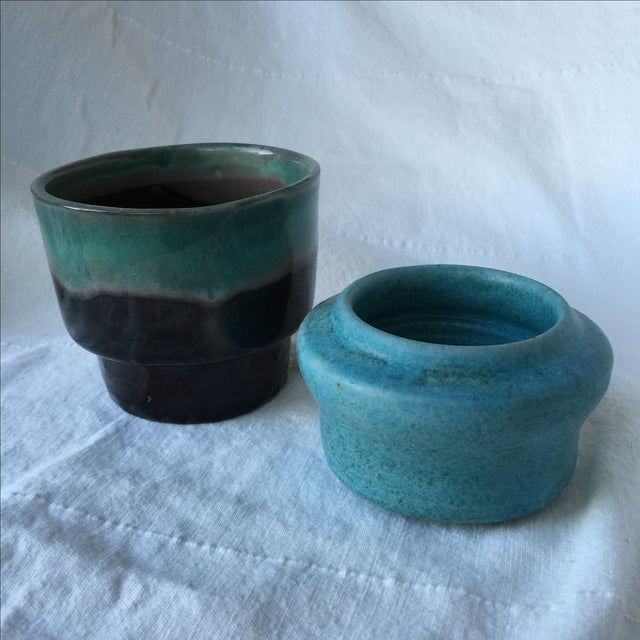 Pottery Planters - Set of 3 - Image 5 of 11