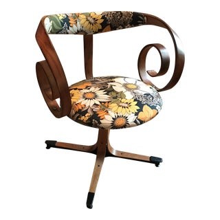 George Mulhauser Floral Sultana Chair
