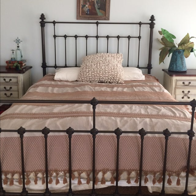 Brown Mexican Tassel Blanket/Throw - Image 5 of 6