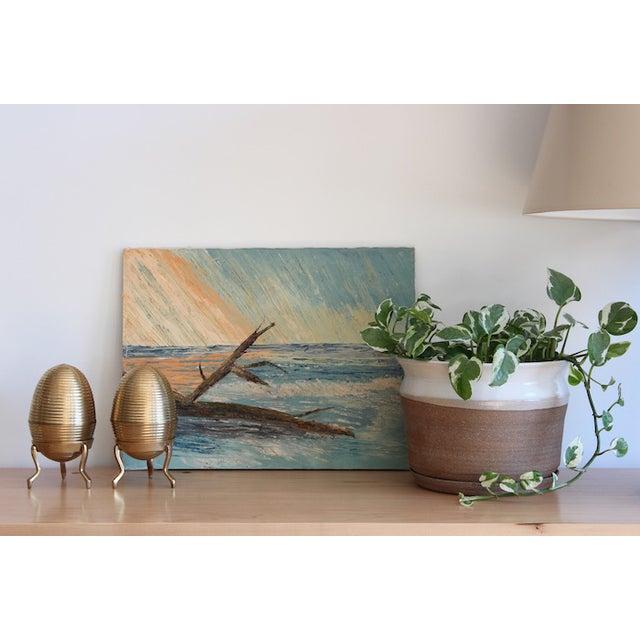 Vintage Seascape Painting - Image 3 of 5