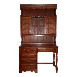 Thomasville Desk, Including Cabinet