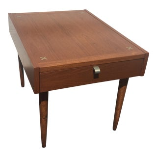 American of Martinsville Side Table With Drawer