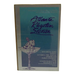 "Vintage ""Atlanta Rhythm Section""Concert Poster"
