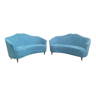 ISA Curved Sofas - A Pair