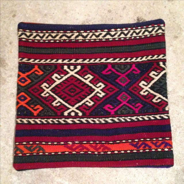 Vintage Kilim Pillow Cover - Image 2 of 5