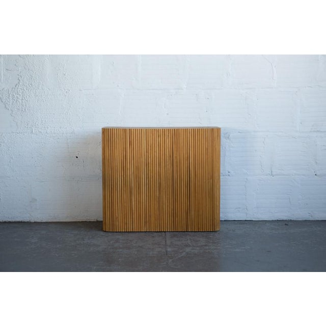 Wood Dowel Accent Table - Image 3 of 5