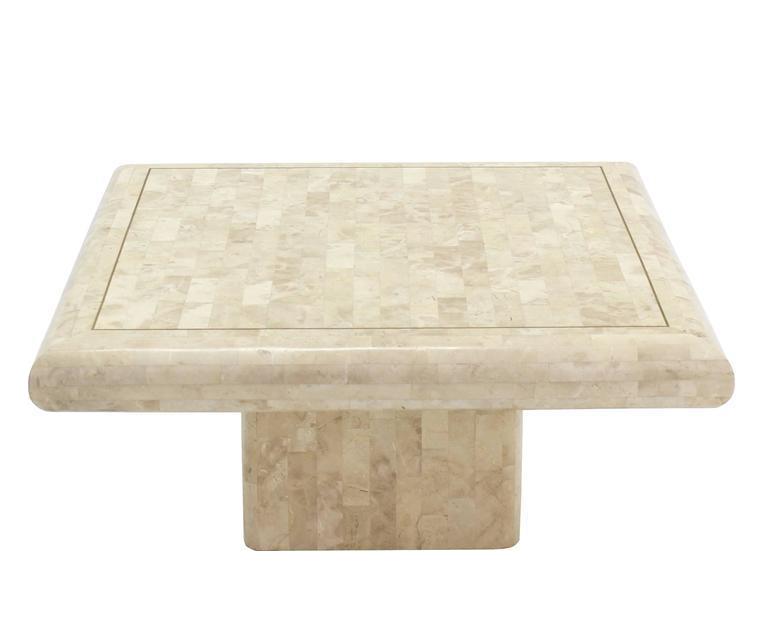 Tessellated Stone Tile Coffee Table