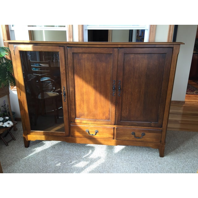 Pennsylvania House Solid Wood Armoire - Image 2 of 4