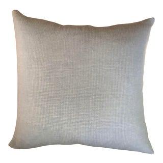 Pale Blue Cotton Pillows - a Pair