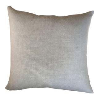 Pale Blue Cotton Pillows - a Pair