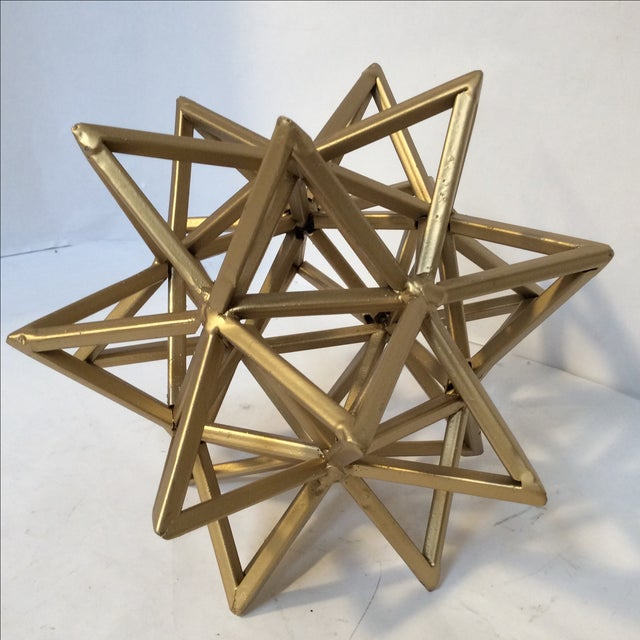 Geometric Gold Star - Image 4 of 7