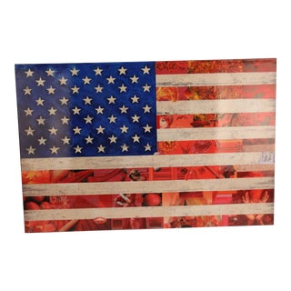 Americana Flag Collage