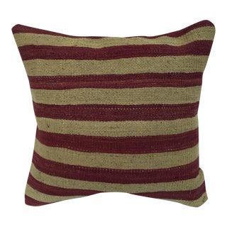 Woven Kilim Striped Pillow