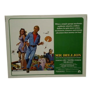 "Vintage Movie Poster ""Mr. Billion"""
