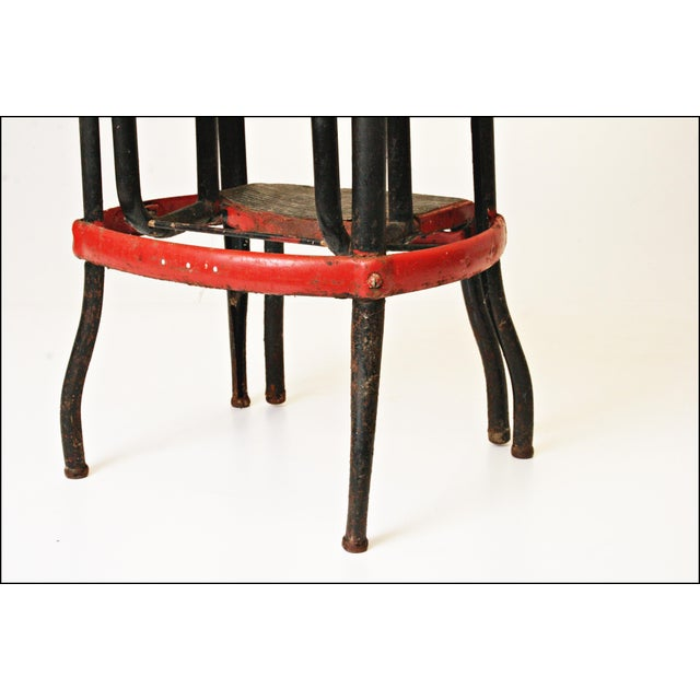Mid-Century Metal Step Stool - Image 9 of 11