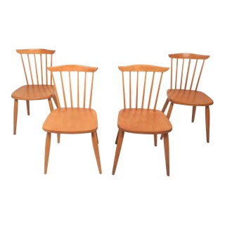 Paul McCobb Style Mid-Century Modern Dining Chairs - Set of 4