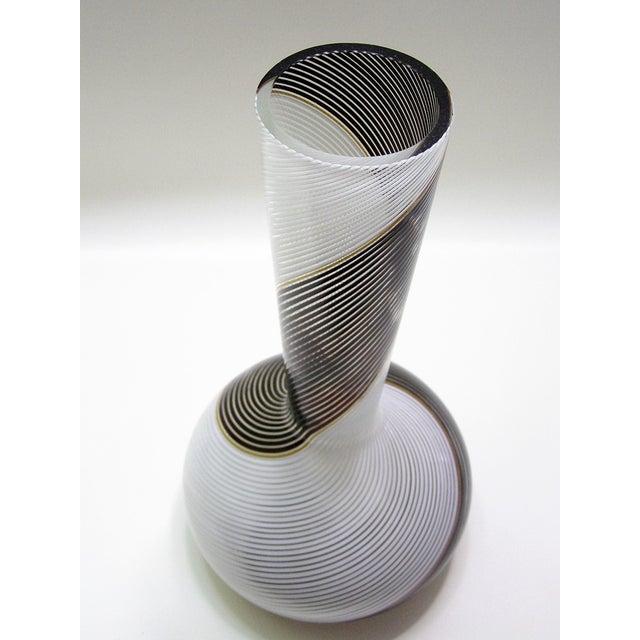 Image of Dino Martens Mezza Filigrana Murano Vase
