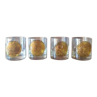 Vintage Rock Glasses - Set of 4