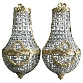 Small French Empire Sconce - A Pair