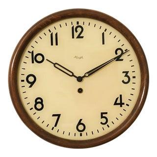 Big Kienzle Bauhaus Wall Clock from the 1930s
