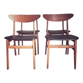 Original Farstrup Danish Dining Room Chairs   Set of 4. Vintage   Used Danish Modern Dining Chairs   Chairish