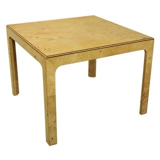 Henredon Scene Two Parson Style Coffee Side Table