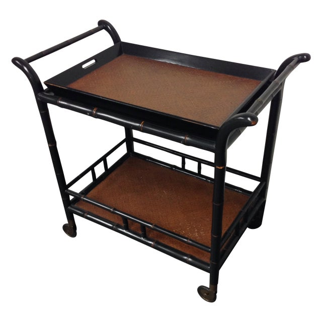 Hand Crafted Tea Cart from the Philippines - Image 1 of 9