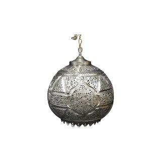 Early 19th Century Moroccan Pierced Brass Lantern