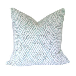 Lacefield Designs' Tahitian Stitch Custom Pillow Cover