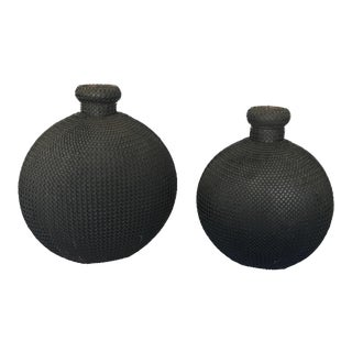East Asian Decorative Jugs - A Pair