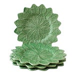 Lemon Leaf Chargers - Set of 4