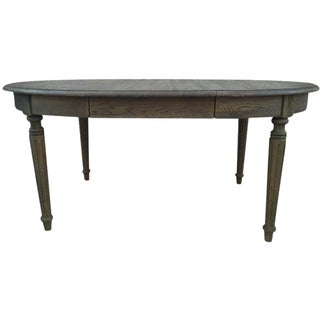 Restoration Hardware Gray-Washed Table