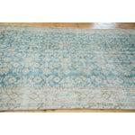 "Image of Distressed Oushak Carpet - 6'3"" X 8'10"""
