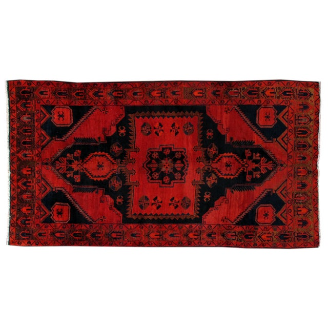 Image of Apadana - Vintage 5 x 9 Persian Kurdish Rug