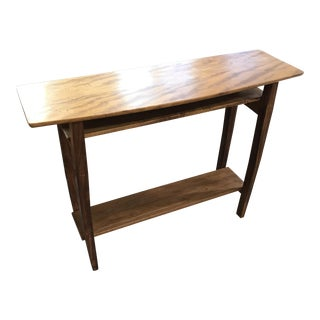 African Mahogany Console Table