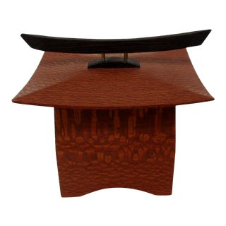 Japanese Maple Pagoda Box