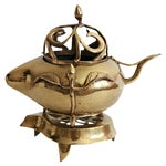 Image of Traditional Solid Brass Warmer - 2 Pieces