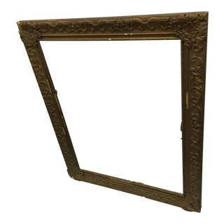 Ornately Detailed Antique Frame